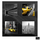 New York Yellow Taxi   City BOX FRAMED CANVAS ART Picture HDR 280gsm