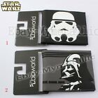 Movie Star Wars Darth Vader & Stormtrooper PU Leather Short Purse Wallet
