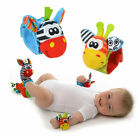 1Pair Soft Babys Hands Wrist Foot Socks Finders Rattles Foots Baby Infant Wear