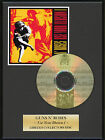 GUNS N ROSES - Framed CD Presentation Disc Display - MULTI LISTING