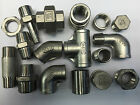 "BSP STAINLESS STEEL 316 PIPE FITTINGS - 1/8"" - 4"" 10 BAR RATED"