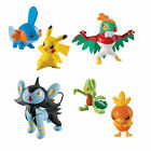 Tomy Pokemon Action Pose Figure Pack - Hawlucha Luxio Bulbasaur sqirtle pikachu