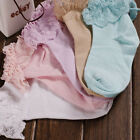 Cute Lovely Japanese Ruffle Frilly Ankle Lace  Socks Ladies Princess Girl Women
