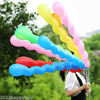 Colorful 10/50/100X Home Wedding Party Decoration Long Spiral Latex Balloons