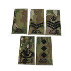 Royal Anglian Rank Slide in Multicam with Black Embroidery