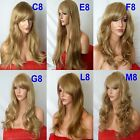 BLONDE Curly Layered Full Wig Ladies Fashion Fancy dress wigs #4/30/26
