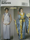 Free Post BUTTERICK SEWING PATTERN Ladies Japanese Kimono History Costume 6267