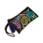 Embroidered Ethnic Chinese Style Clutch Bag Handbag Coin Purse Mobile Phone HUK