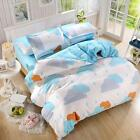 Rain Cloud Single Double Queen King Size Bed Set Pillowcases Quilt Duvet Cover