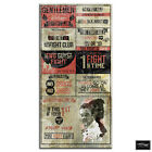 Boxing Fight Club Rules  Hobbies BOX FRAMED CANVAS ART Picture HDR 280gsm