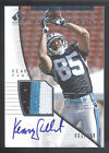 2004 SP Authentic #195 Keary Colbert 3 Color Patch On Card Autograph RC #003/799