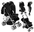 Kids Kargo Duo Double Tandem Twin pushchair stroller Newborn-3 yr footmuffs pram