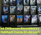 DARRYL STRAWBERRY _ 28 Different $1.00 Cards _ Choose 1 or More _ 10 Mail FREE