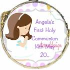 PERSONALISED COMMUNION DIY MINT CRISP CHOCS FAVOURS SWEETS GIFTS CMMC18