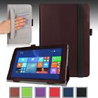 """PU Leather Smart Case Cover Stand For ASUS Transformer Book T100CHI 10.1"""" NEW"""