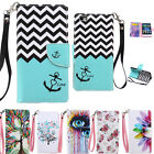 For iPhone Flip PU Leather Pattern Stand Wallet Case Cover Magnetic Bourdon Skin