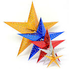 Stereo Laser Star Paper Lantern Chrismas Home Garden Decor Wedding Party Hanging