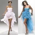 Womens Formal Wedding Party Gowns Cocktail Prom Evening Bridesmaid Short Dress