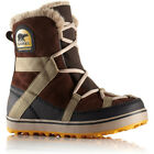 Sorel Glacy Explorer Shortie Womens Boots - Tobacco All Sizes