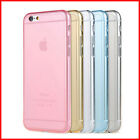 Transparent Color TPU Case Cover for iPhone 6 and iPhone 6 Plus