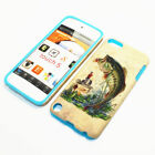 Fishing Bass Hybrid ShockProof Phone Cover Case For Apple iPod Touch 5th Gen