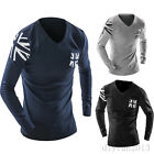 Fashion Mens Slim Fit Round Neck Knitwear Pullover Sweater Top  Sweaters New
