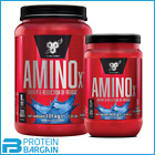 BSN Amino X BCAA&#039;s 435 gram 30 serves - 1 kg 70 serves *** AMAZING PRICE *** <br/> ***FAST FREE DELIVERY, LONG EXPIRY, OFFICIAL STOCK***