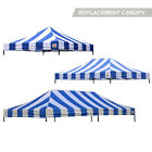 AbcCanopy Ez Pop Up Canopy Tent Replacement Canopy Top Cover for Caravan Canopy