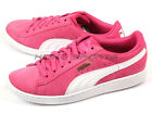 Puma Vikky Carmine Rose-White Sportstyle Classic Casual Sneakers 2015 356714 08