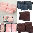 New 5 pcs Travel Luggage Organizer Packing Clothes Storage Bags Cube Waterproof