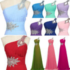 New Womens Formal Prom Party Bridesmaid Evening Long Maxi Ball Dress Size 6 - 20