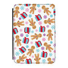 Christmas Gingerbread Xmas Kindle Paperwhite Touch PU Leather Flip Case Cover