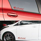 SPORTS mind produced by TOYOTA SPORT #3 /2 Decals Stickers Graphics Logo Rav I