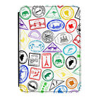 Passport Stamps Travel India Kindle Paperwhite Touch PU Leather Flip Case Cover