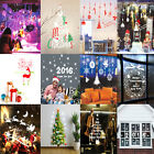 NEW Removable DIY Wall Sticker Vinyl Decal Home Mural Merry Christmas Decoration