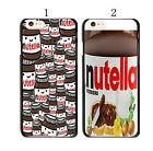 Funny Nutella Pattern Cover Case For Apple iPhone 4 4S