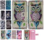 For Alcatel Smart Phones classics Flip PU Leather Wallet Back Cover Case Skin