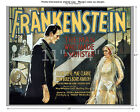 Frankenstein #5 - Vintage Film Movie Poster [4 sizes,  matte+glossy avail]