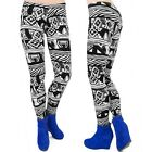 TRENDY,Damen  Leggins in geometrischen Mustern