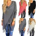 women s loose sweater outwear long sleeve