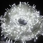 24V 328ft 100M 500 LED Blub String Light 8 Mode Lighting Home Xmas Wedding Decor