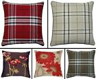 """George Vintage Cushion Covers Or Complete One Pair 18"""" x 18"""" Luxury Quality"""