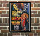 The Mummy - Reproduction Vintage Horror Film Movie Poster