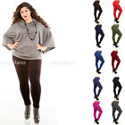 Women\'s Fleece Lined Leggings Thick Solid Pants Plus Size New