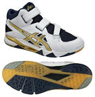 ASICS Japan Men's CYBERZERO MID Volleyball Shoes TVR476 White Gold
