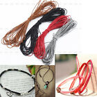 New Waxed Cotton Cord String Linen Thread Wire Jewelry Bracelet Making 10M 1mm
