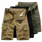 Cool Men's Casual Military CAMO Combat Army Cargo Work Shorts Trousers Pants HOT