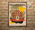 Philadelphia #1 - Reproduction Vintage Travel Poster
