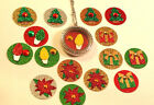 Christmas Floating Charm Window Plate For Living Floating Lockets