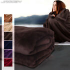 Soft Fleece Throw Blanket Home Living Room Sofa Couch Bed Cover Bedding Guest